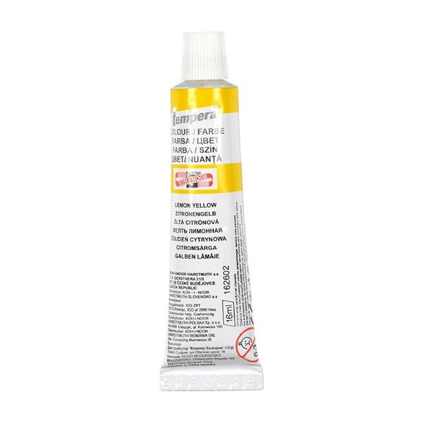 KOH-I-NOOR 162602 16ml citromsárga tempera - 1