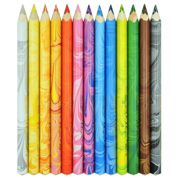 Koh-I-Noor 3408/13 vastag 13db-os vegyes színű színes ceruza - 2