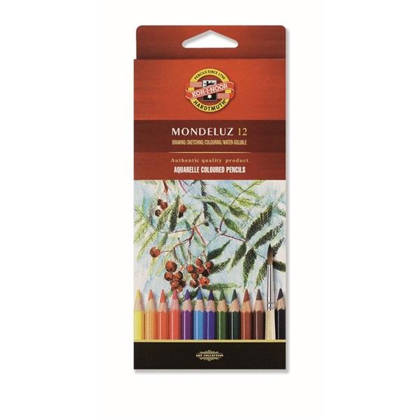 Koh-I-Noor 3716 Mondeluz aquarell 12db-os vegyes színű színes ceruza - 1
