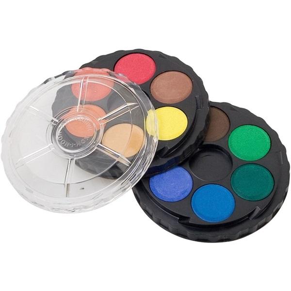 Koh-I-Noor kerek 12 színű vízfesték készlet - 1