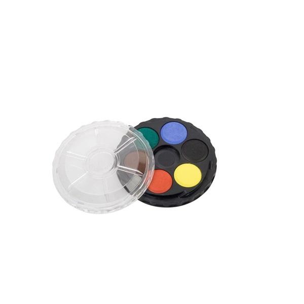 Koh-I-Noor kerek 6 színű vízfesték készlet - 1