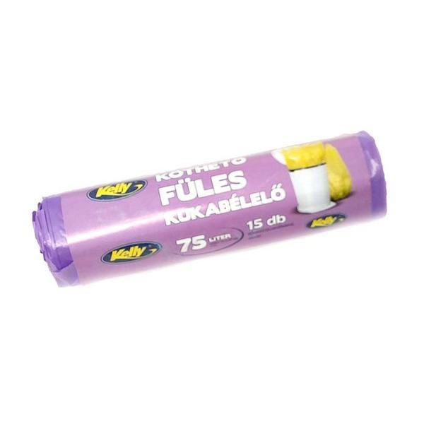 Köthető füles 75 literes /12 / 15db/roll kukabélelő - 1