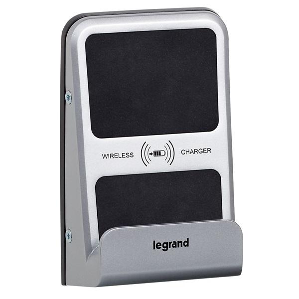 Legrand Program Mosaic indukciós töltő 1A+ USB töltőaljzat 2,4A - 2