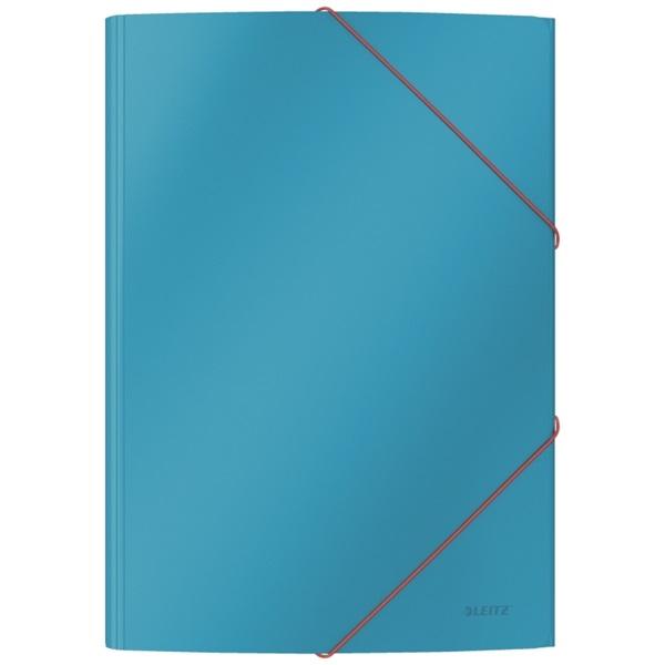 Leitz COSY Soft touch A4 nyugodt kék gumis karton mappa - 4