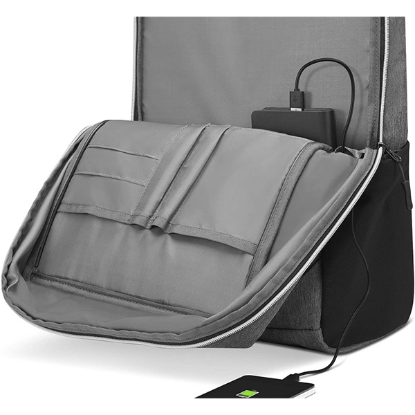 Lenovo B530 Urban Backpack 15,6 szürke notebook hátizsák - 5