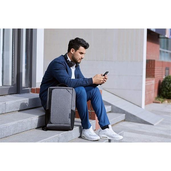 Lenovo B530 Urban Backpack 15,6 szürke notebook hátizsák - 7