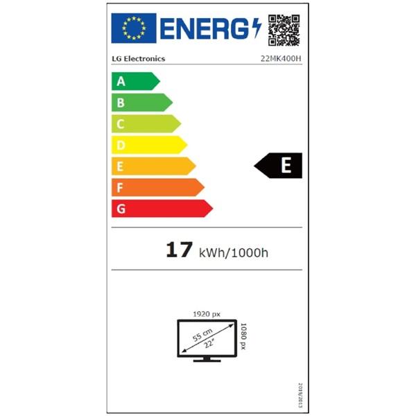 LG 21,5 22MK400H-B LED HDMI monitor - 1