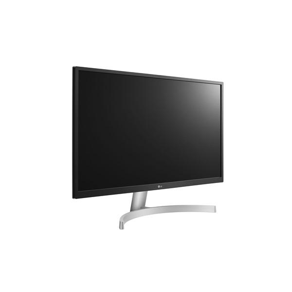 LG 27 27UL500-W 4K IPS HDMI DisplayPort LED fehér monitor - 2