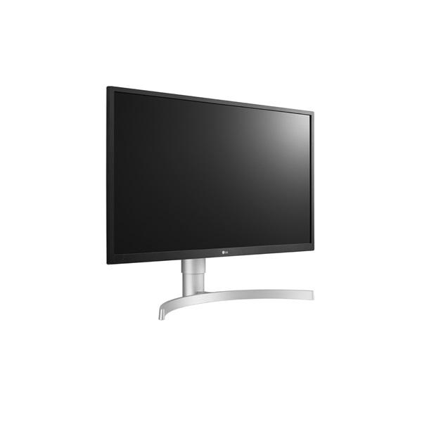 LG 27 27UL550-W 4K IPS HDMI DisplayPort LED fehér pivot monitor - 2