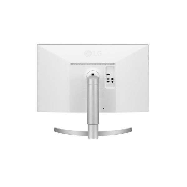 LG 27 27UL550-W 4K IPS HDMI DisplayPort LED fehér pivot monitor - 4