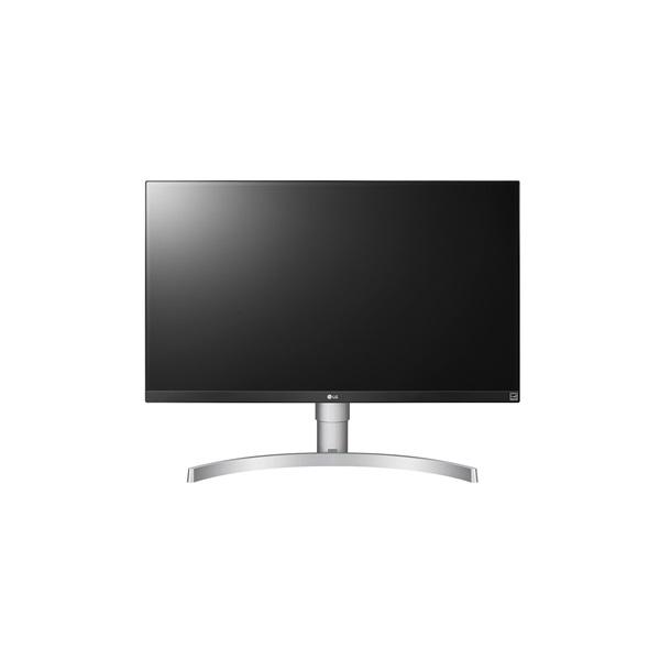 LG 27 27UL650-W 4K IPS HDMI DisplayPort Pivot LED fehér monitor - 1