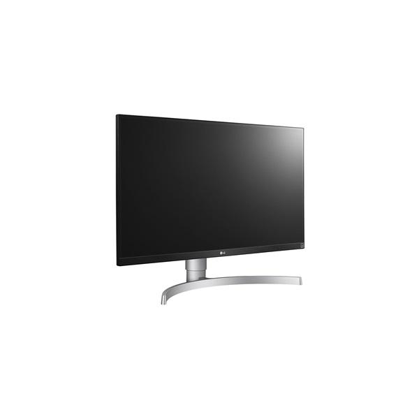 LG 27 27UL650-W 4K IPS HDMI DisplayPort Pivot LED fehér monitor - 2