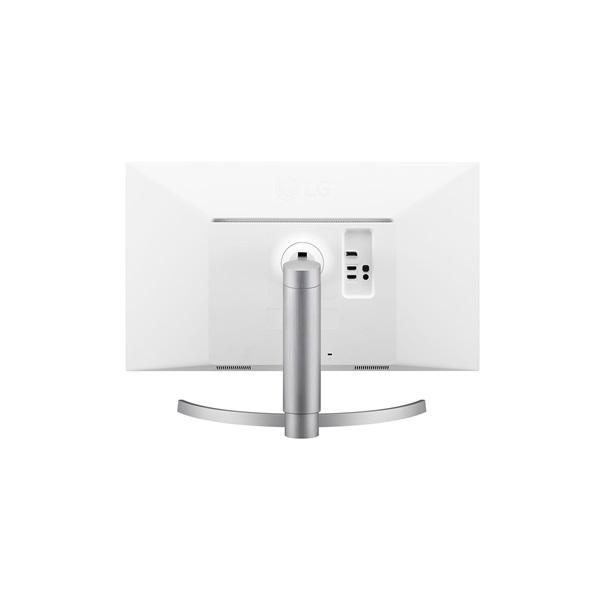 LG 27 27UL650-W 4K IPS HDMI DisplayPort Pivot LED fehér monitor - 3