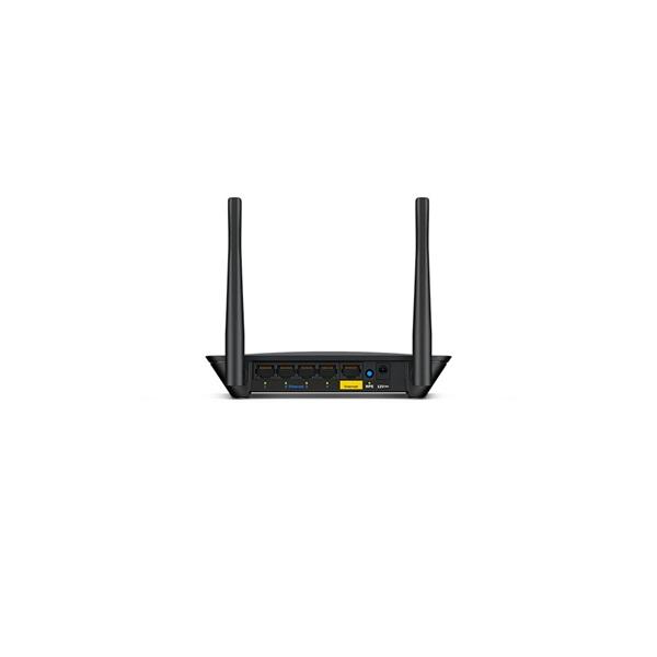 Linksys E2500V4 N600 Dual-Band 300Mbps Vezeték nélküli Router - 4