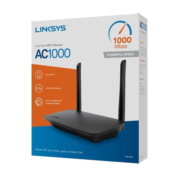 Linksys E5350 Dual Band AC1000 Vezeték nélküli Router - 8