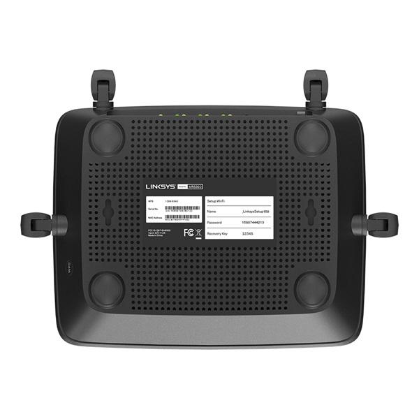 Linksys MR9000 Tri-Band AC3000 MU-MIMO, Mesh WiFi 5, Vezeték nélküli Gigabit Router - 4