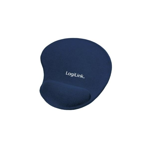 LogiLink géles csuklótámaszos kék egérpad - 1