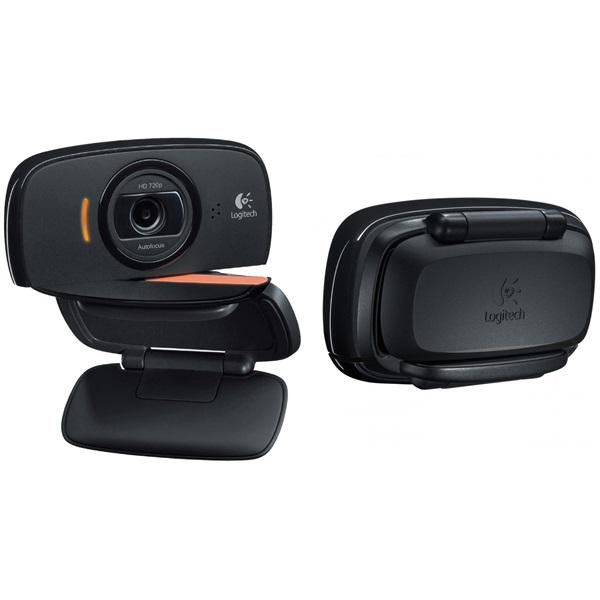 Logitech C525 720p mikrofonos fekete webkamera - 1