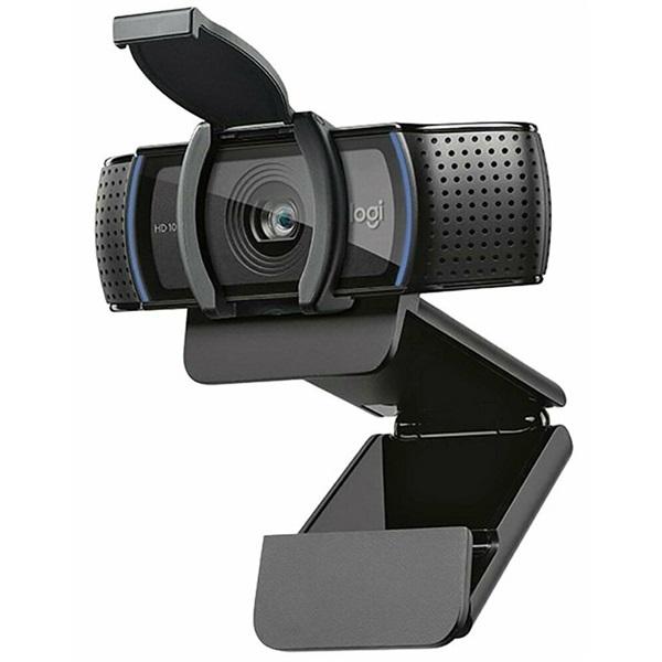 Logitech C920S Pro 1080p mikrofonos fekete webkamera - 1