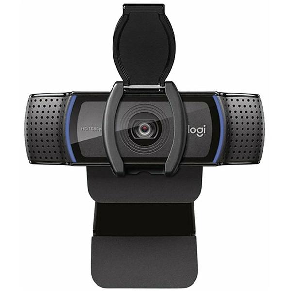 Logitech C920S Pro 1080p mikrofonos fekete webkamera - 2