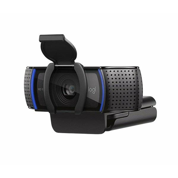 Logitech C920S Pro 1080p mikrofonos fekete webkamera - 3