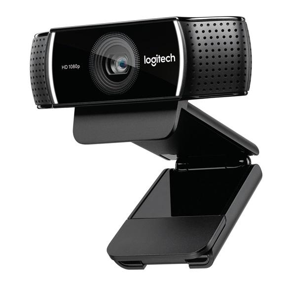 Logitech C922 Pro 1080p mikrofonos fekete webkamera - 1