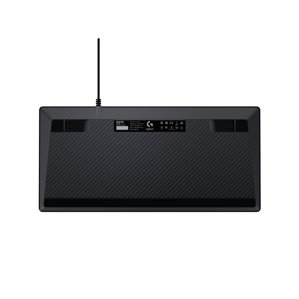 Logitech G213 Prodigy UK USB fekete gamer billentyűzet - 3