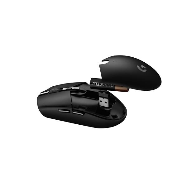 Logitech G305 Lightspeed USB vezeték nélküli fekete gamer egér - 5