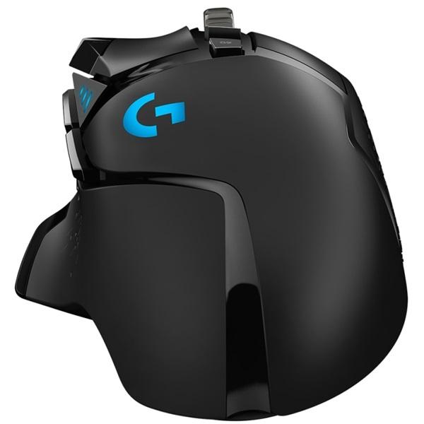 Logitech G502 HERO USB fekete gamer egér - 4
