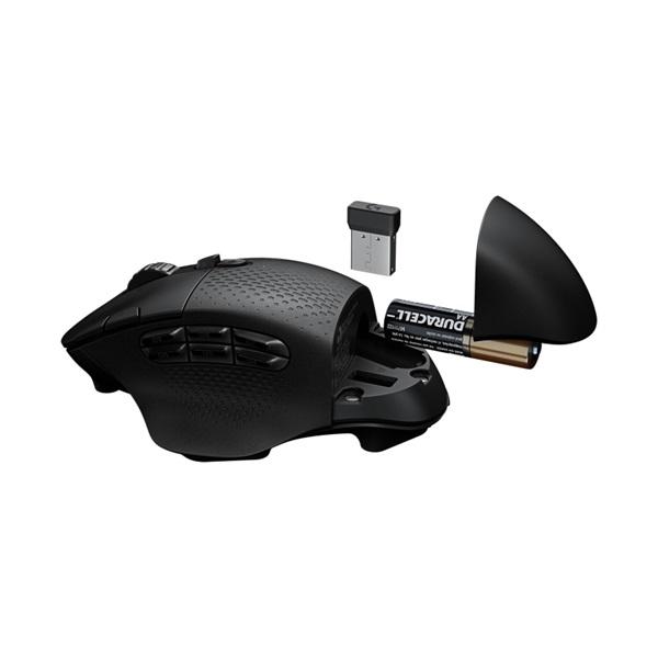 Logitech G604 Lightspeed vezeték nélküli fekete gamer egér - 4