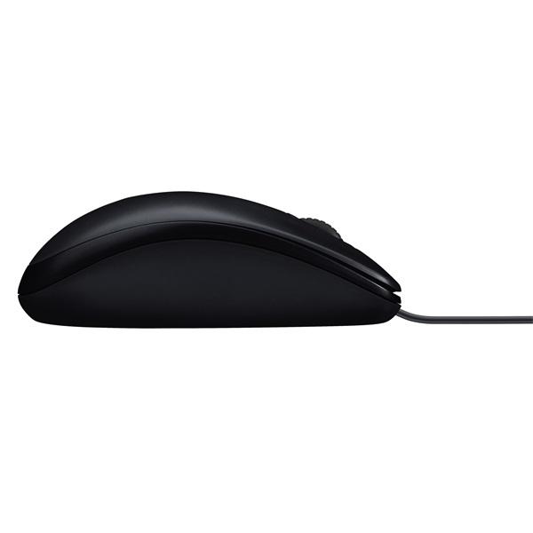 Logitech M100 USB fekete egér - 3