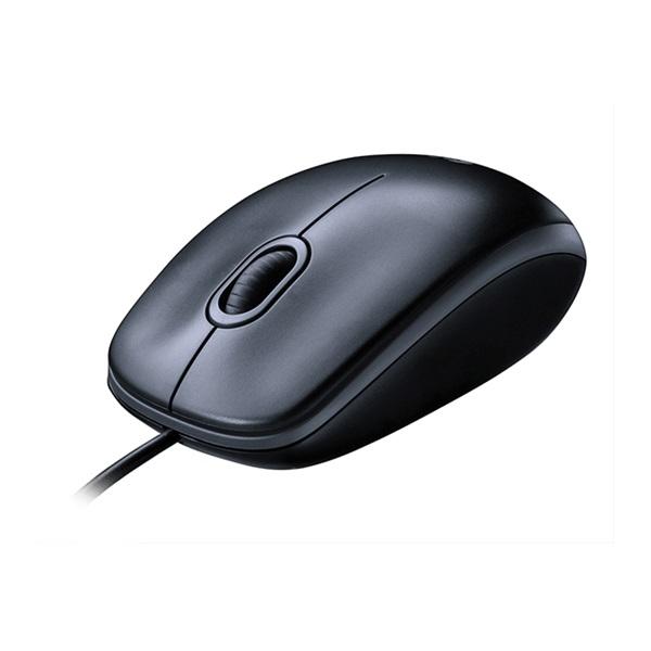Logitech M100 USB fekete egér - 4