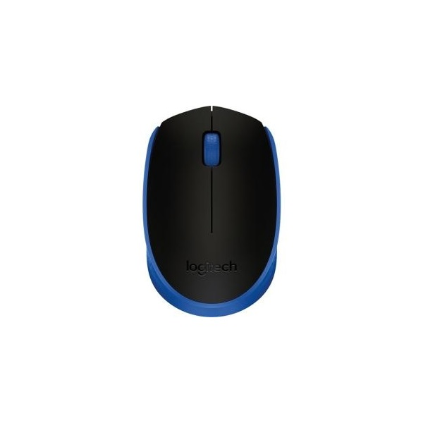 Logitech M171 vezeték nélküli kék notebook egér - 1