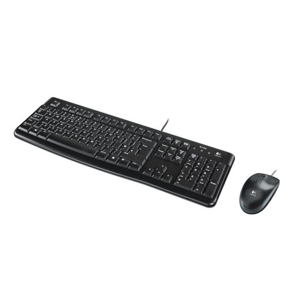 Logitech MK120 HUN fekete USB billentyűzet + egér - 2