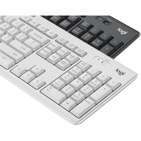 Logitech MK295 Silent HUN fehér vezeték nélküli billentyűzet + egér - 4