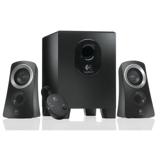 Logitech Z-313 jack 2.1 25W fekete hangszóró - 1
