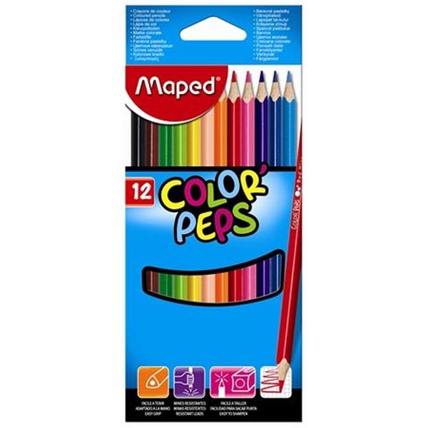 Maped Color Peps 12db-os vegyes színű színes ceruza - 1