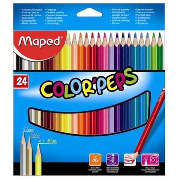Maped Color Peps 24db-os vegyes színű színes ceruza - 1