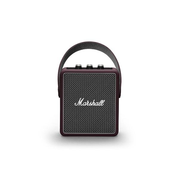 Marshall Stockwell II burgundi Bluetooth hangszóró - 1