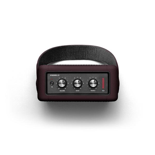 Marshall Stockwell II burgundi Bluetooth hangszóró - 2