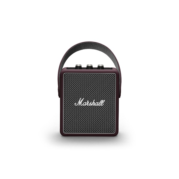 Marshall Stockwell II burgundi Bluetooth hangszóró - 3