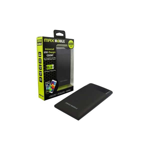 Max Mobile COUNT 6000mA power bank - 1