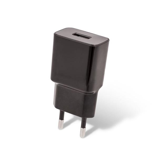 Maxlife TF-0009 Maxlife 1A USB fekete hálózati töltő - 1