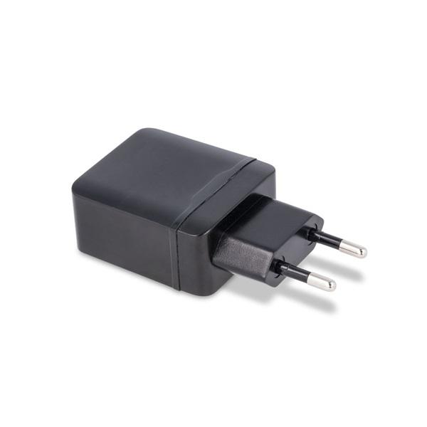Maxlife TF-0013 Maxlife 2.1A 2xUSB fekete hálózati töltő - 2