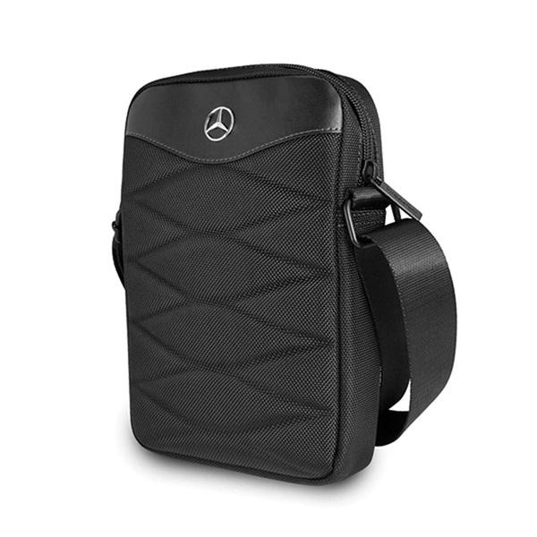 Mercedes III mintás 10 fekete tablet táska - 1