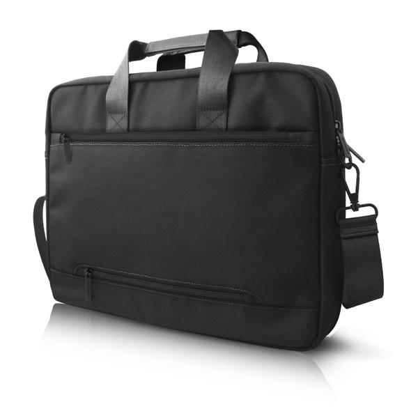 Mercedes III mintás 15 fekete notebook táska - 2