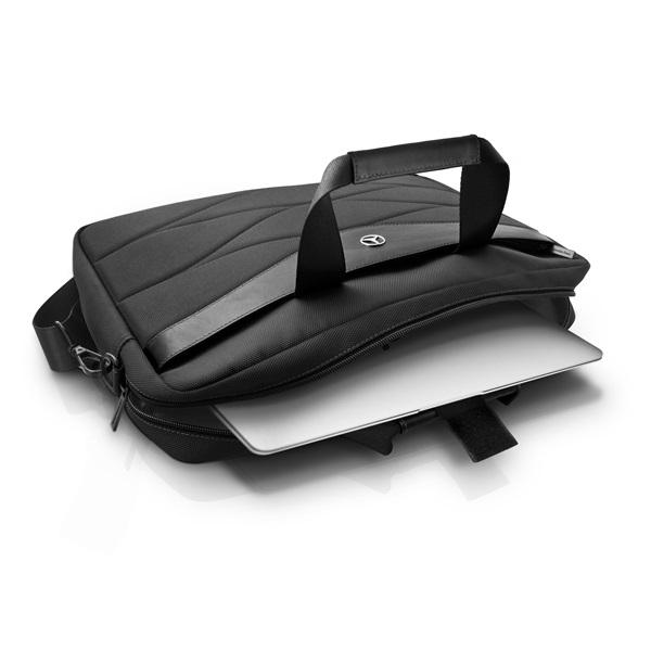 Mercedes III mintás 15 fekete notebook táska - 4