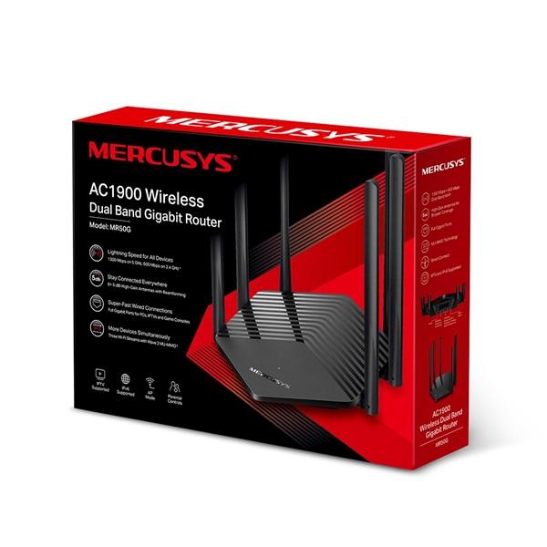 Mercusys MR50G AC1900 Dual-Band Vezeték nélküli Gigabit Router - 3