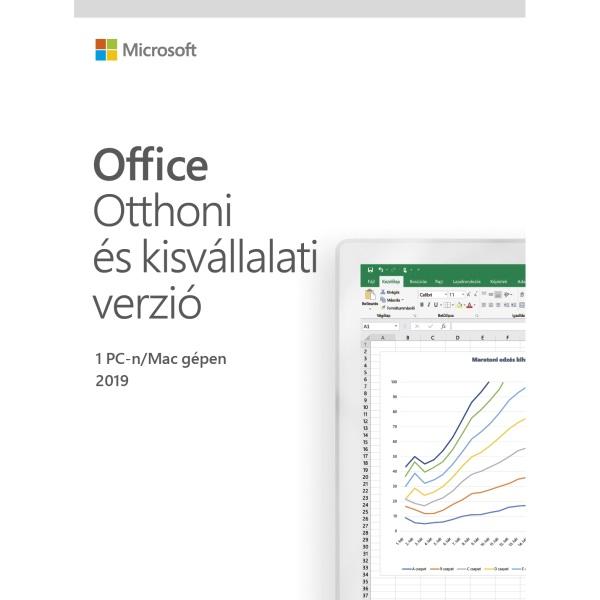 Microsoft Office 2019 Otthoni és kisvállalati verzió Elektronikus licenc szoftver - 1