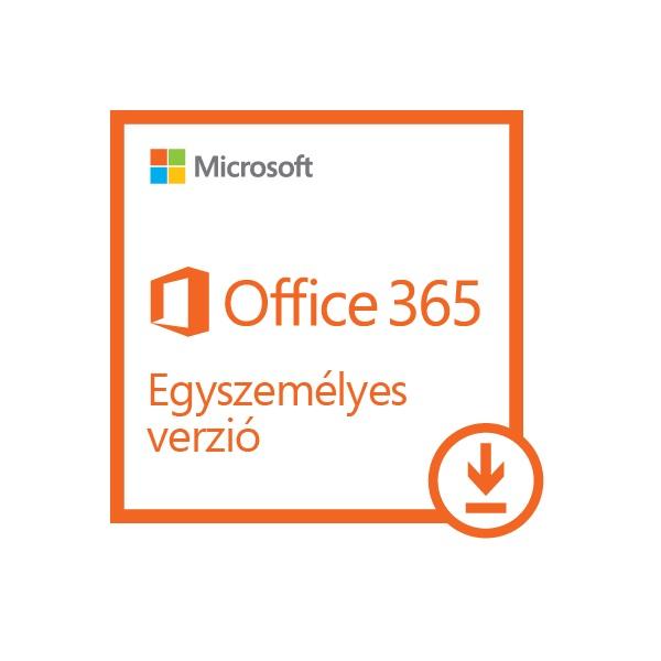 Microsoft Office 365 Personal (Egyszemélyes) Elektronikus licenc szoftver - 1